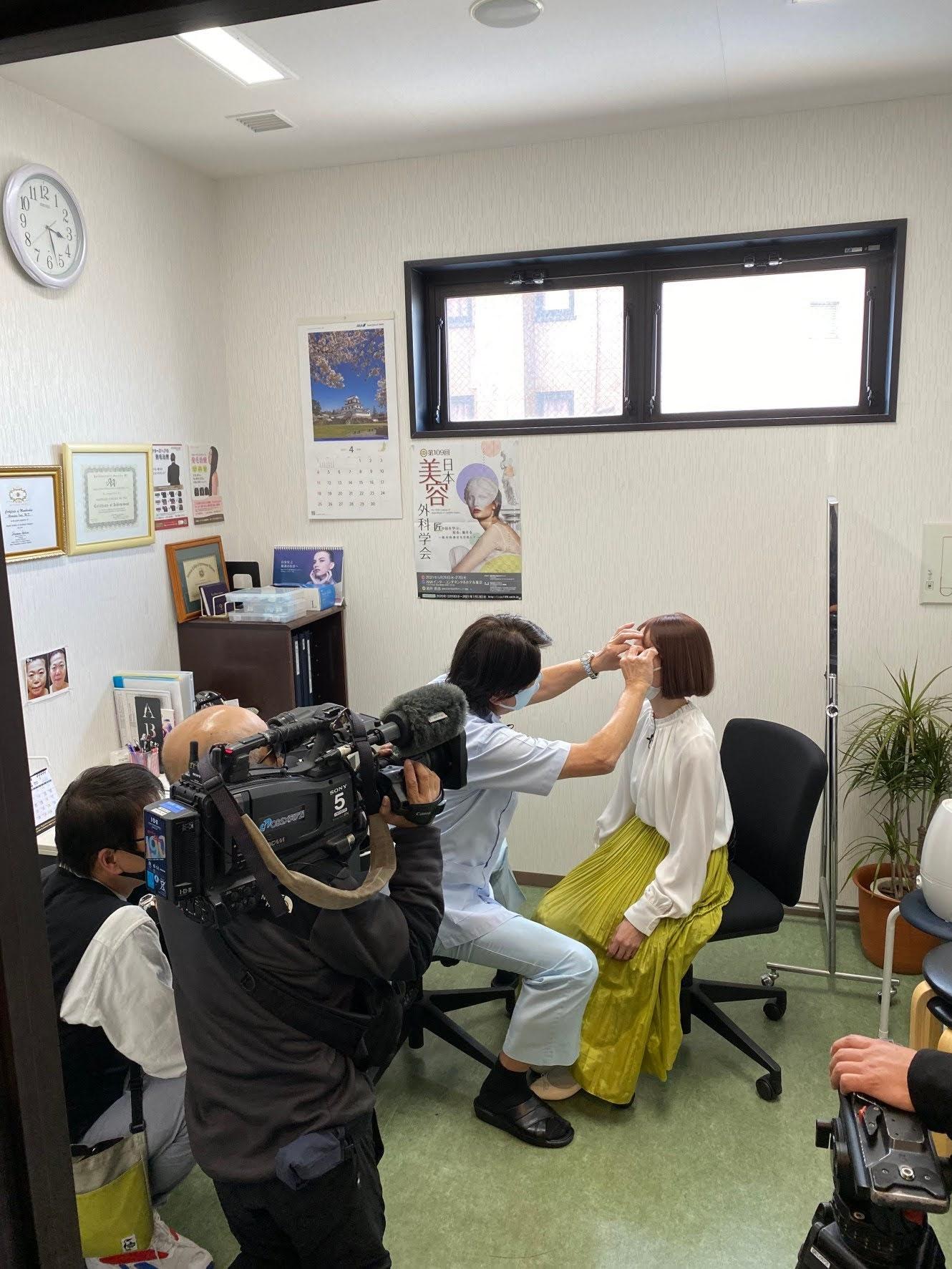 【必見!】来る4月24日(土)大分OBS TV「かぼすタイム」でドクターコムロが眼瞼下垂について話します!